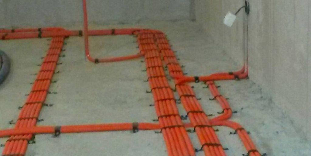 монтаж новой электропроводки в квартире