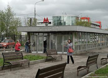 Станция метро Черкизовская