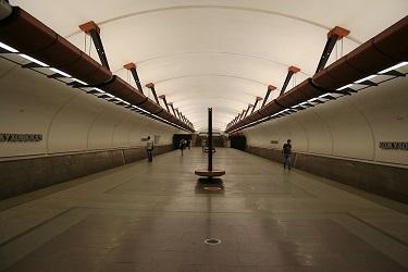 Станция метро Кожуховская