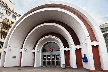 Красные Ворота станция метро