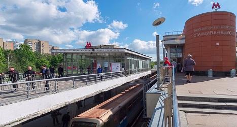 Кунцевская станция метро
