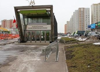Станция метро Лермонтовский проспект