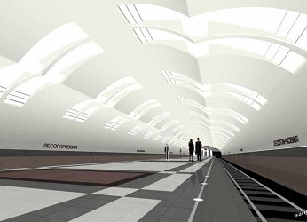 Лесопарковая станция метро