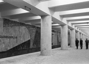 Нагатинская  станция метро