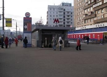 Станция метро Преображенская площадь