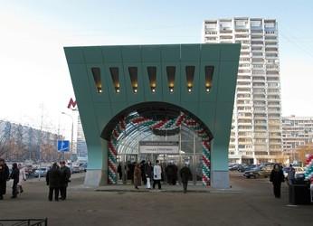 Строгино станция метро