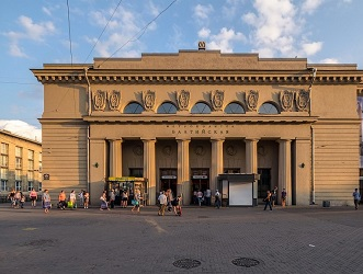 Балтийская станция метро