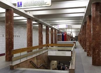 Станция метро Каховская
