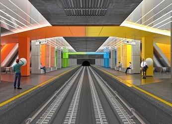 Станция метро Нижегородская