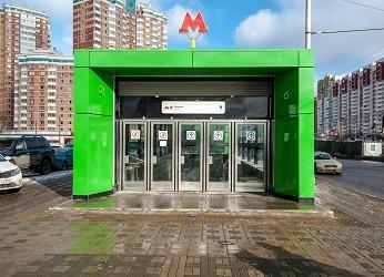 Станция метро Раменки