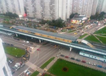 Станция метро Улица Скобелевская