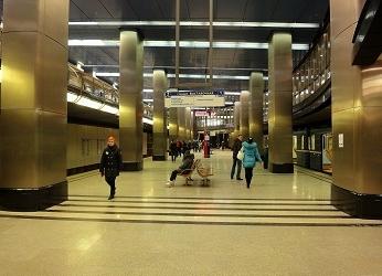 Выставочная станция метро