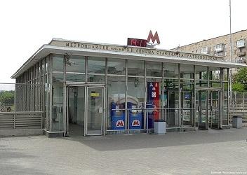 Станция метро Багратионовская