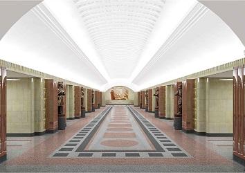 Бауманская станция метро