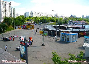 Чертановская станция метро