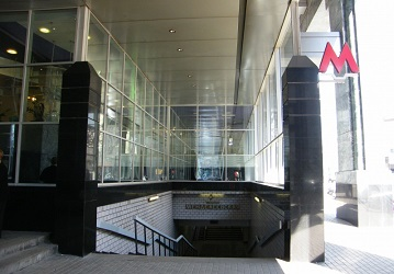 Станция метро Менделеевская
