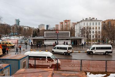 Метро Площадь Гагарина