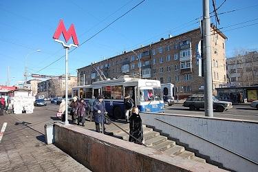 Полежаевская станция метро