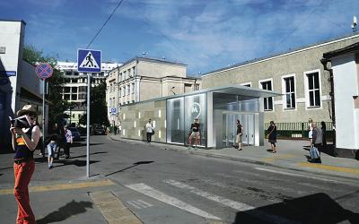Полянка станция метро