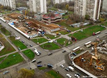 Шипиловская станция метро
