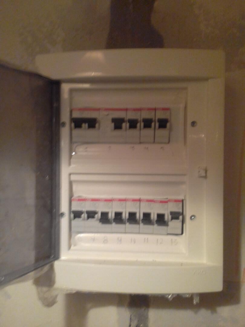Новая электрика в новой двухкомнатной квартире под ключ по адресу город Москва, улица Твардовского, 19к1
