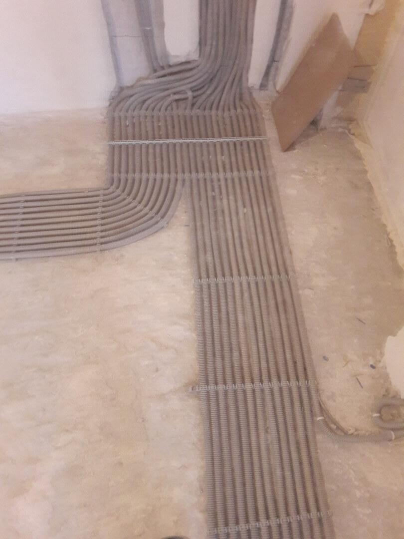 Профессиональная разводка электропроводки в трехкомнатной квартире под ключ по адресу город Москва, Берёзовая аллея, 10к17