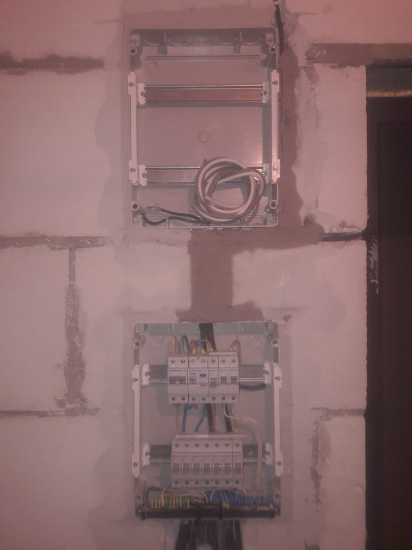 Разводка электропроводки в новостройке в сжатые сроки по адресу город Москва, Лазоревый проезд, 5к4