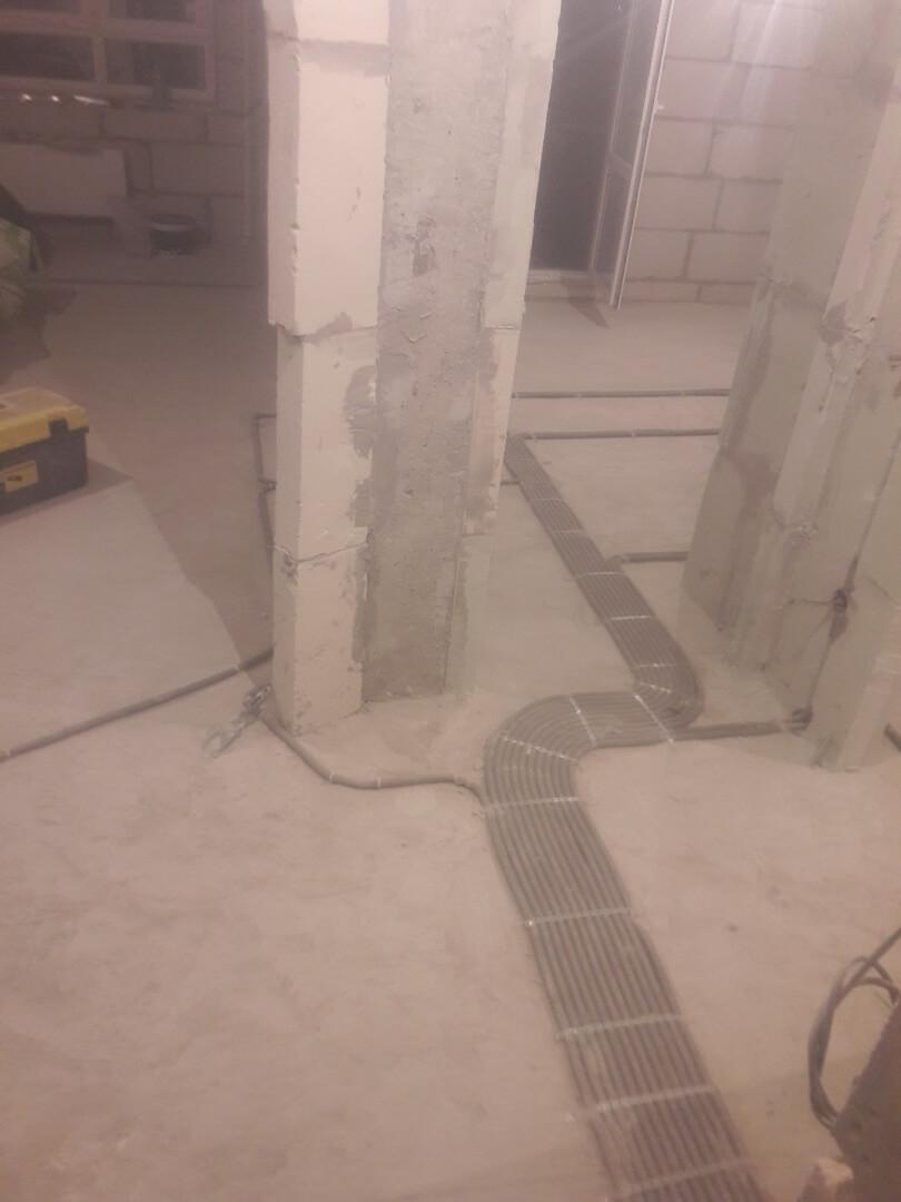 Замена электрической проводки в двухкомнатной квартире