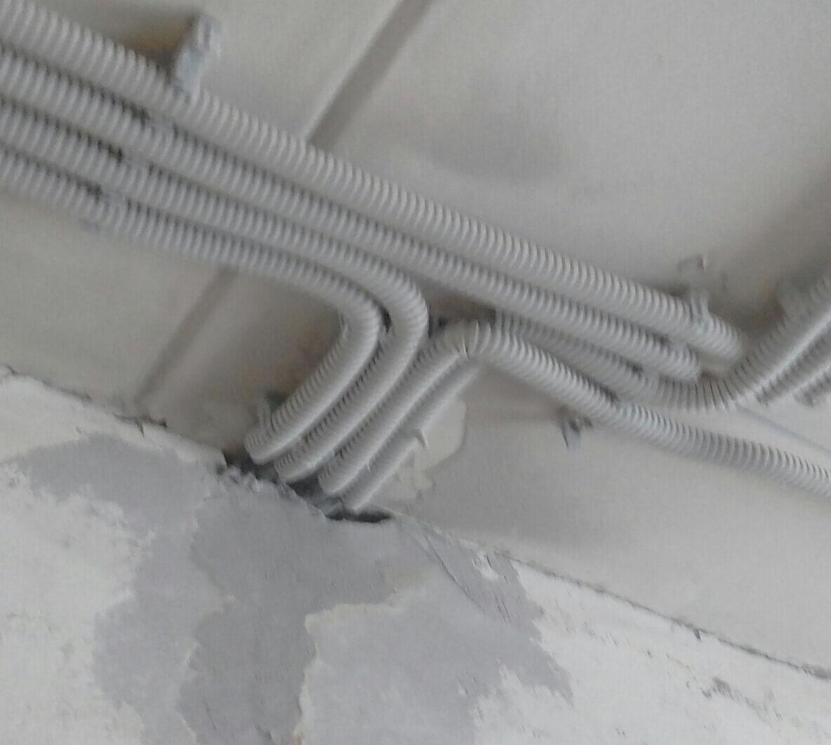 Комплексный монтаж электрики в однокомнатной квартире в панельном доме по адресу город Москва, улица Бутырская, 19к1