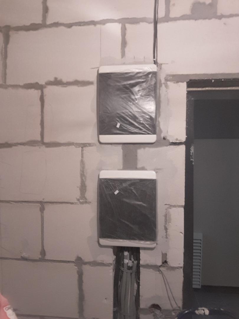 Комплексный монтаж электрики в новостройке под ключ по адресу город Москва, Лазоревый проезд, 5к4