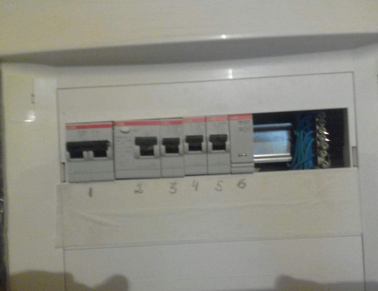 Разводка электрического кабеля под ключ в 1-комнатной квартире по адресу город Москва, улица Бутырская, 19к1