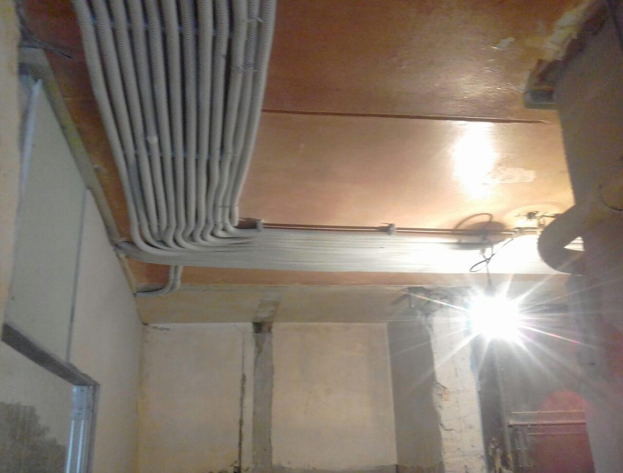 Подключение электричества в 1 комнатной квартире за 3 дня по адресу город Москва, улица Бутырская, 19к1